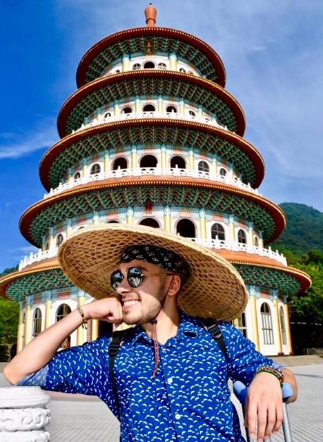 Clemente Garcia in Taiwan